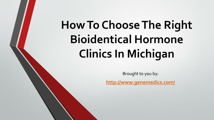 how to choose the right bioidentical hormone clinics in michigan n.