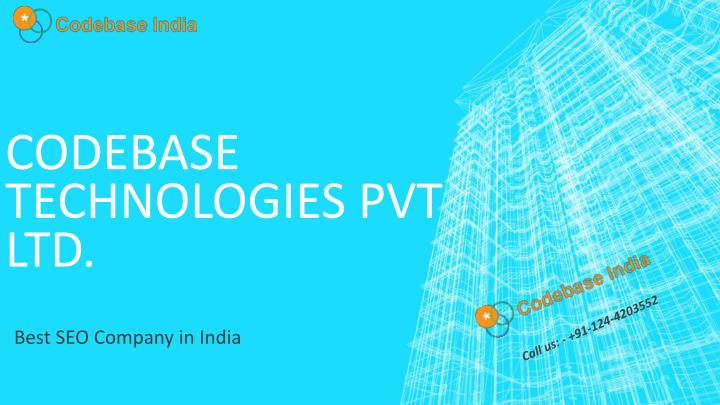 codebase technologies pvt ltd n.