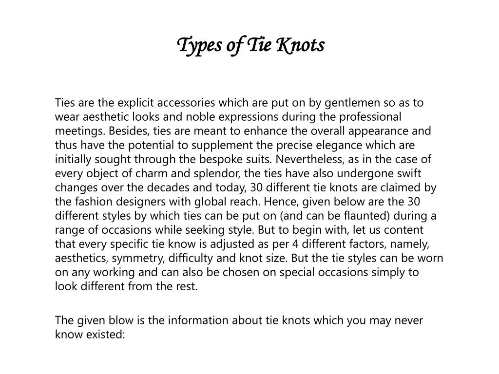 The Eric Glennie Braided Knot T Balthus Tie How To A Necktie Agreeordie Types Of Knots N