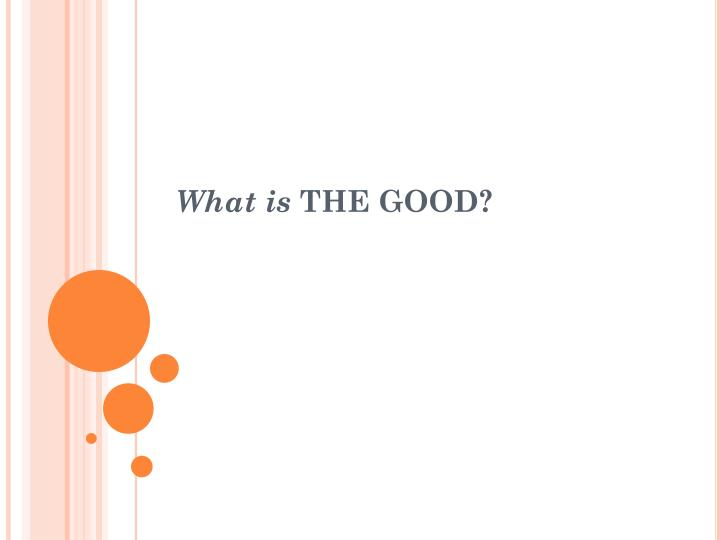 what is the good n.
