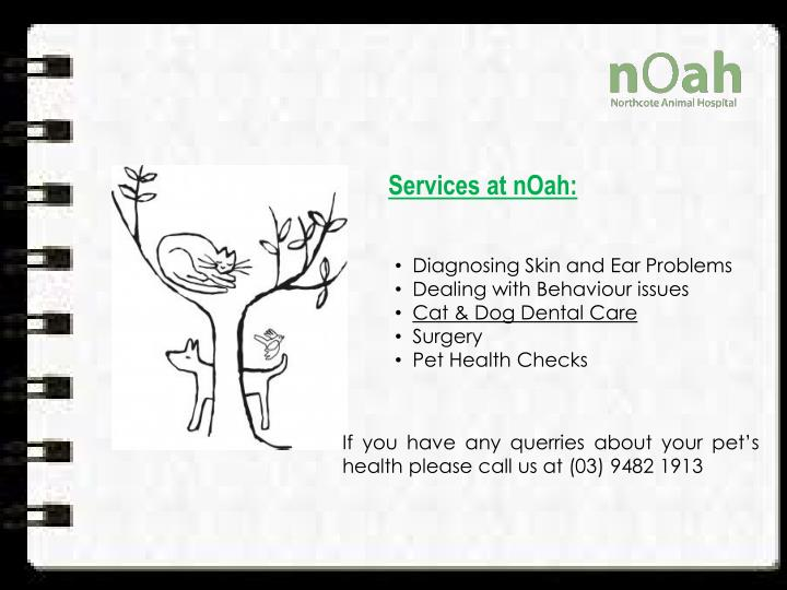 Services at