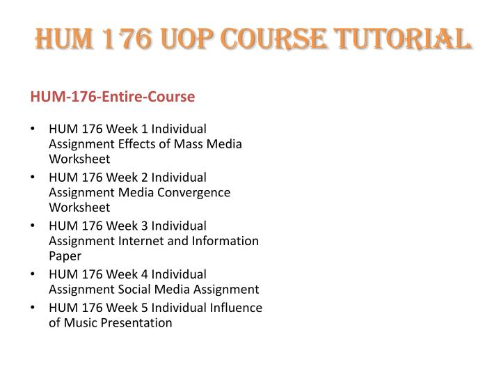 hum 176 internet and information paper