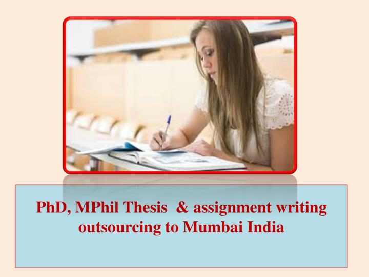 phd thesis writing india