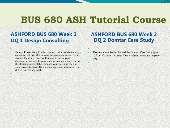 bus 680 week 4 dq 2