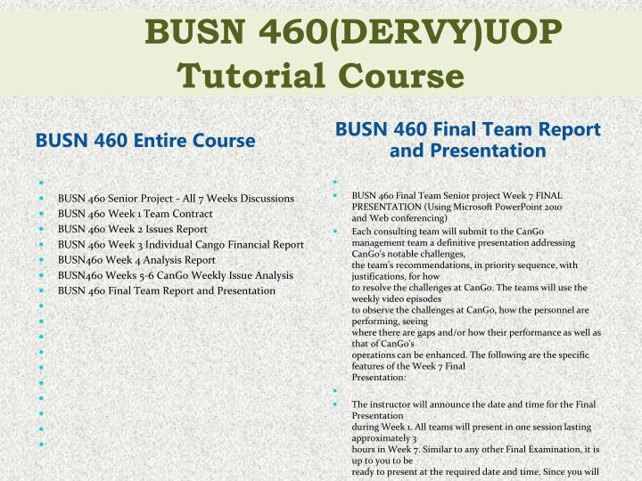 busn460 cango financial Busn460 full course devry a great wordpress busn460 all individual financial analysis busn460 week 3 financial selling your team's services to cango.