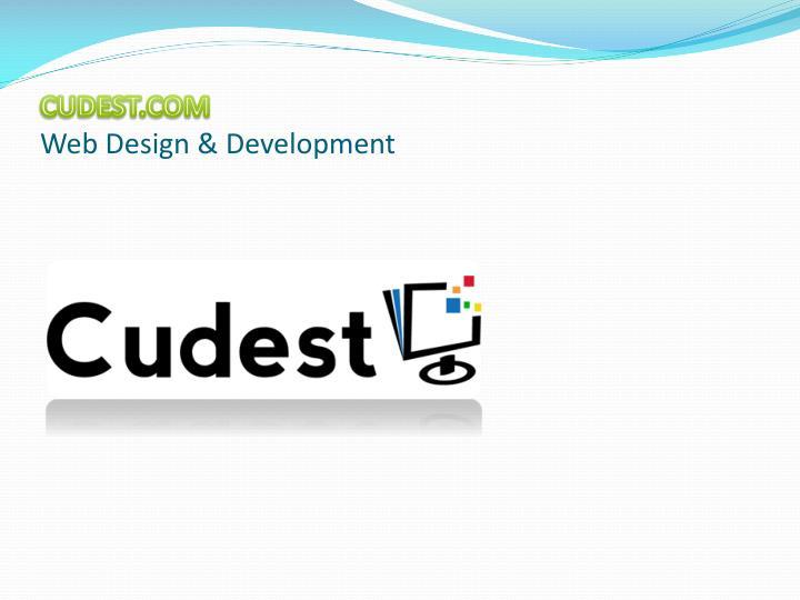 Cudest com web design development
