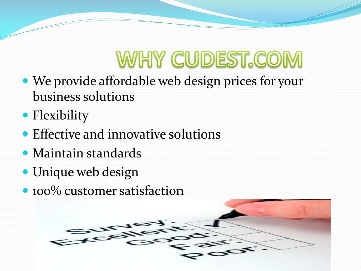 WHY CUDEST.COM