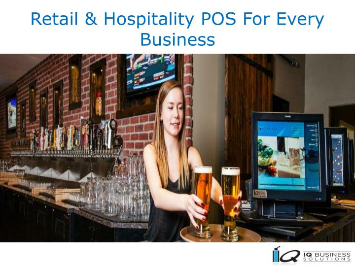 retail hospitality pos for every business n.