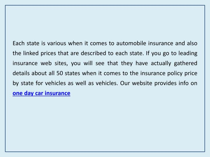 Ppt The Best Provider Of Temporary Car Insurance