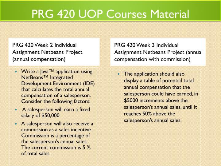 prg420 syllabus