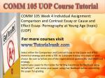 comm 105 uopcourse tutorial5