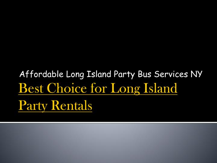 affordable long island party bus services ny n.