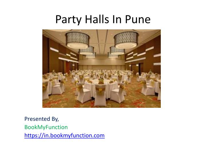 party halls in pune n.