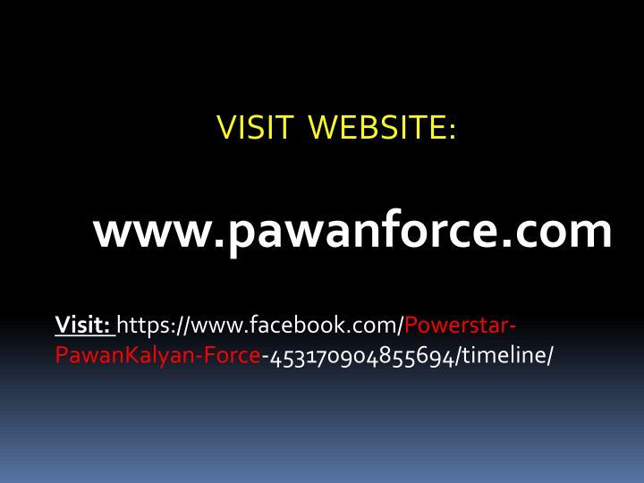 VISIT  WEBSITE: