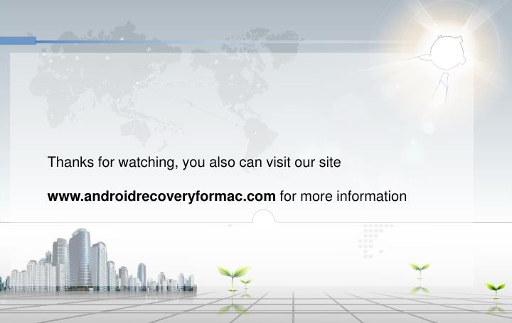Thanks for watching, you also can visit our site