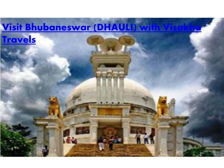 Visit Bhubaneswar
