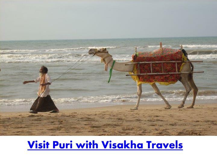 Visit Puri with Visakha Travels