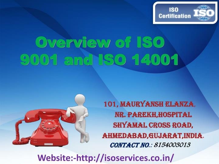 overview of iso 9001 and iso 14001 n.