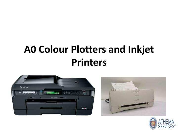 a0 colour plotters and inkjet printers n.
