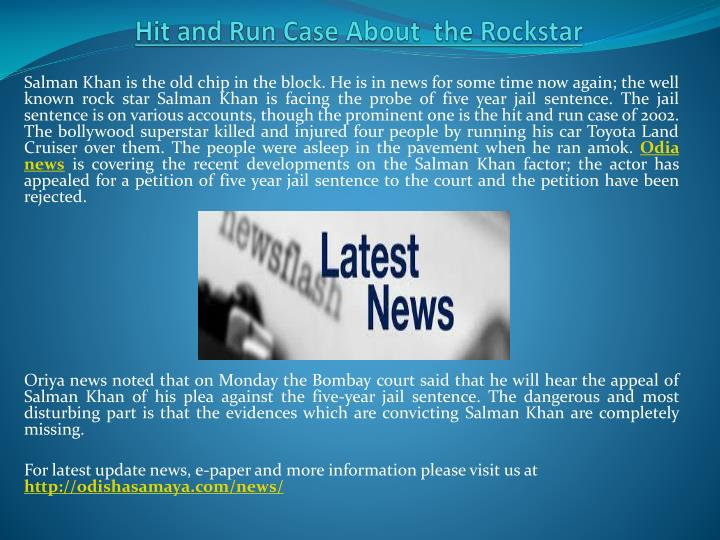 hit and run case about the rockstar n.