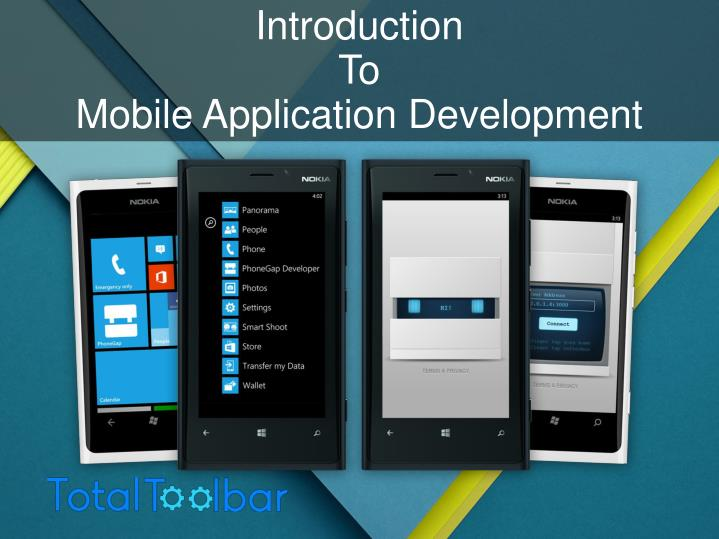 introduction to mobile application development n.