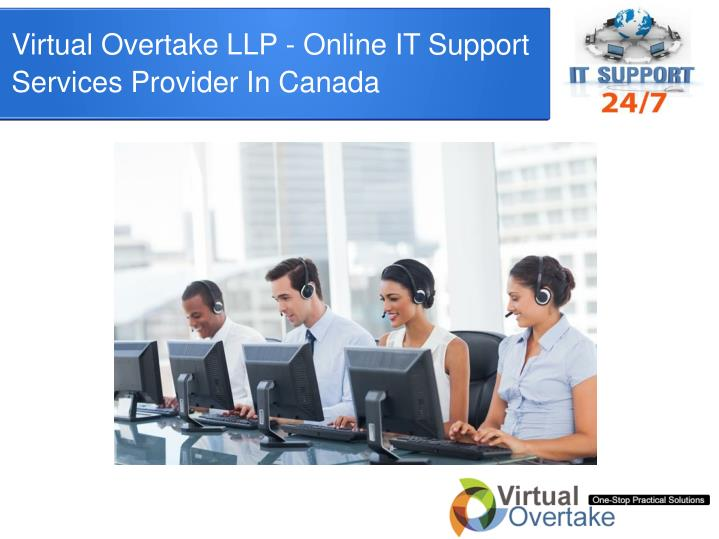 Virtual Overtake LLP - Online IT Support Services Provider In Canada