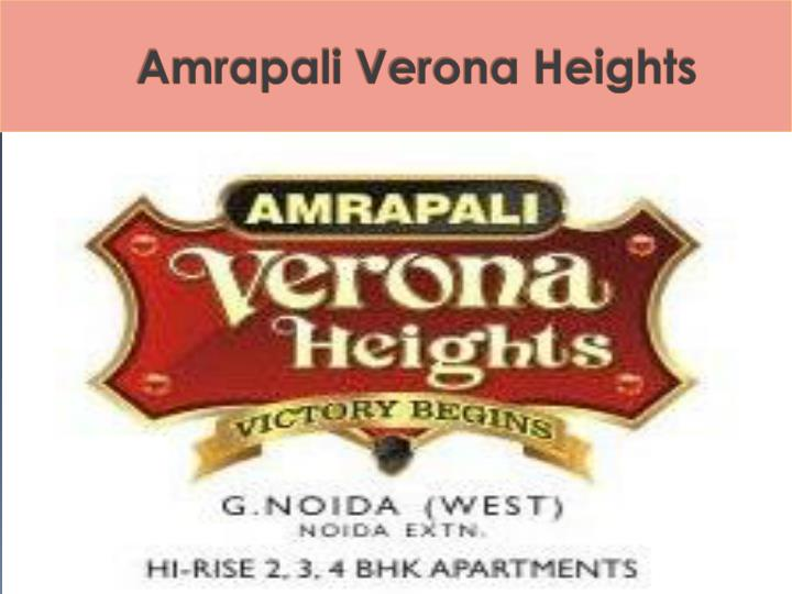 Amrapali verona heights