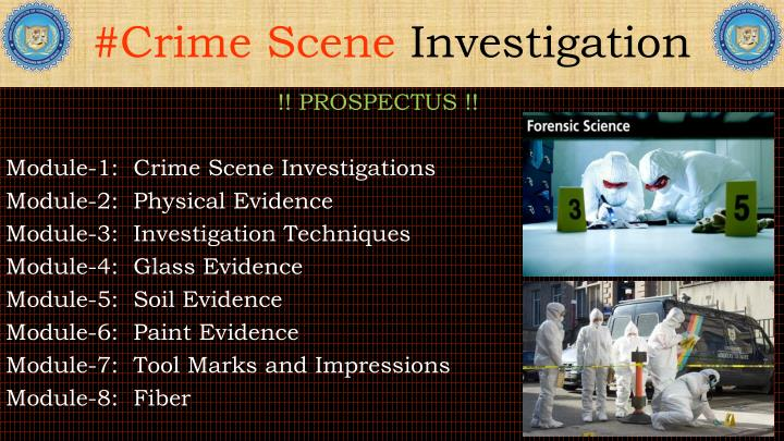 ppt - importance of crime scene: collection & preservation of, Powerpoint templates