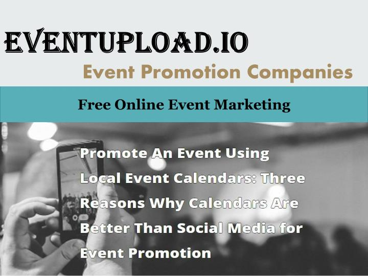 eventupload io event promotion companies n.