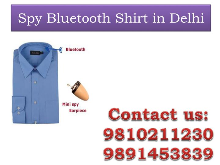 spy bluetooth shirt in delhi n.