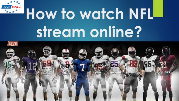 how to watch nfl stream online n.