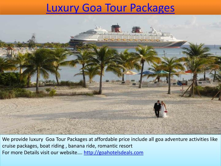 luxury goa tour packages n.