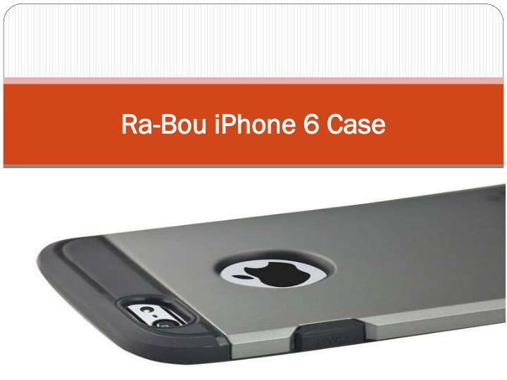 ra bou iphone 6 case n.