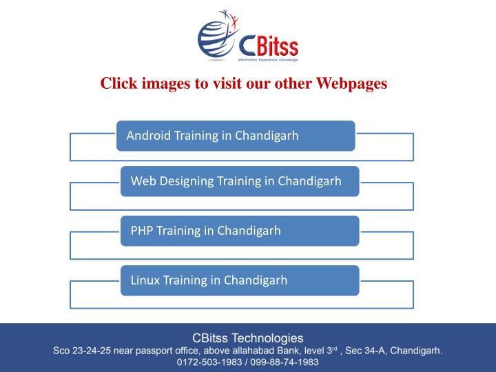 Click images to visit our other Webpages