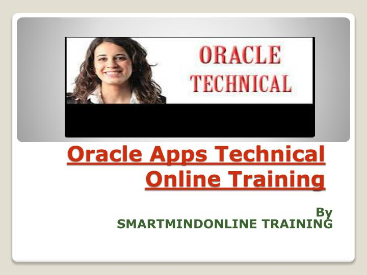 oracle apps technical online training n.