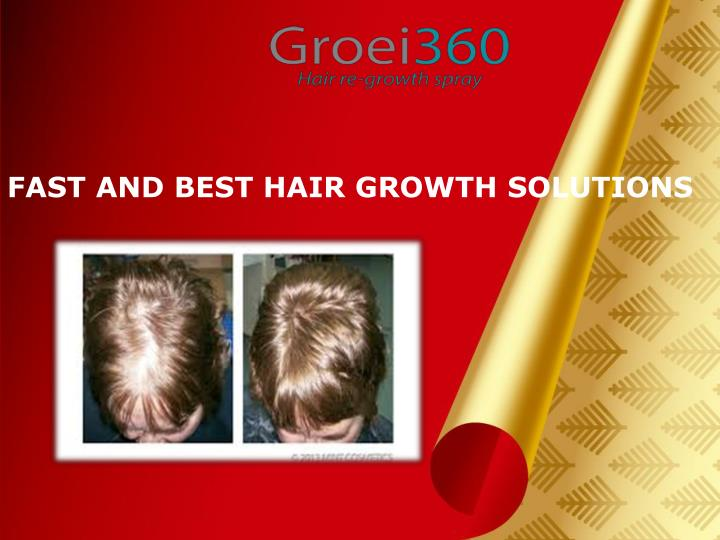 Fast and best hair growth solutions