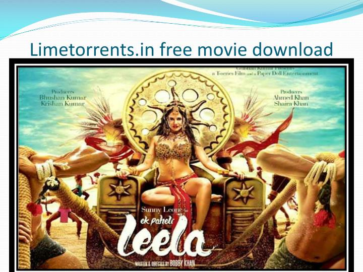 Limetorrents in free movie download