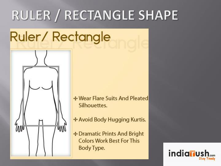 Ruler / Rectangle Shape