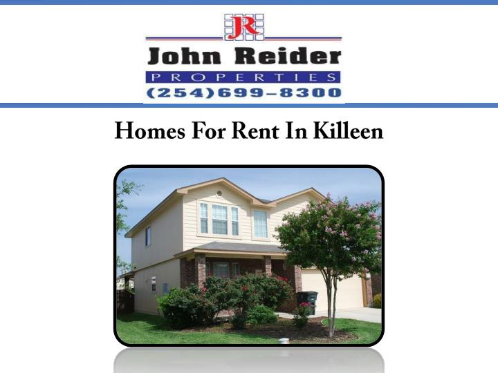 Homes for rent in killeen 7210129
