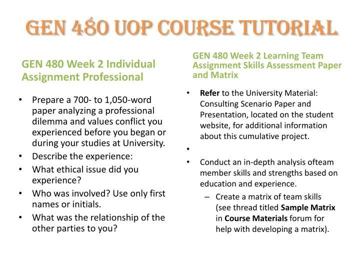 gen 480 learning team consultant scenario paper and presentation due week five Gen 480 week 5 learning team consultant scenario paper and presentation.