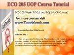 eco 205 uop course tutorial14