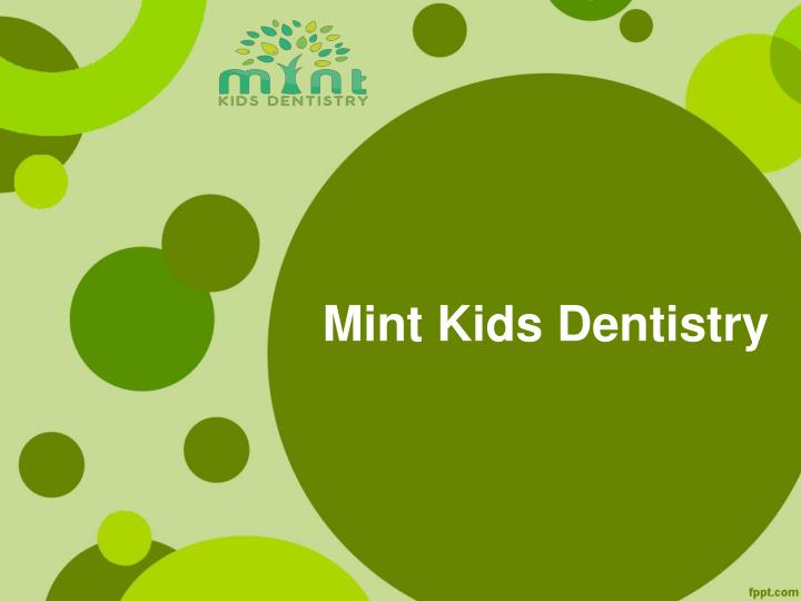 PPT  Bellevue Pediatric Dentistry PowerPoint Presentation  ID:7210951