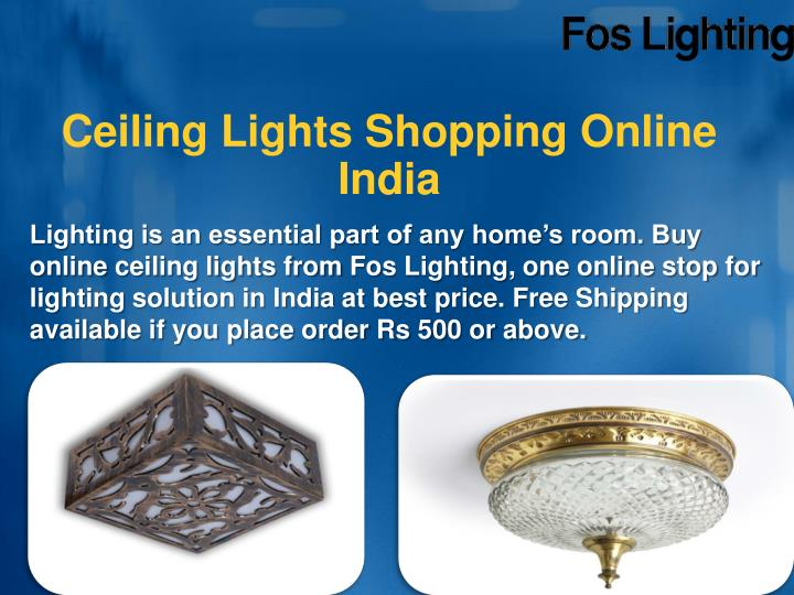ceiling lights shopping online india n.