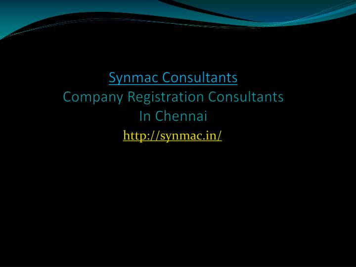 synmac consultants company registration consultants in chennai n.