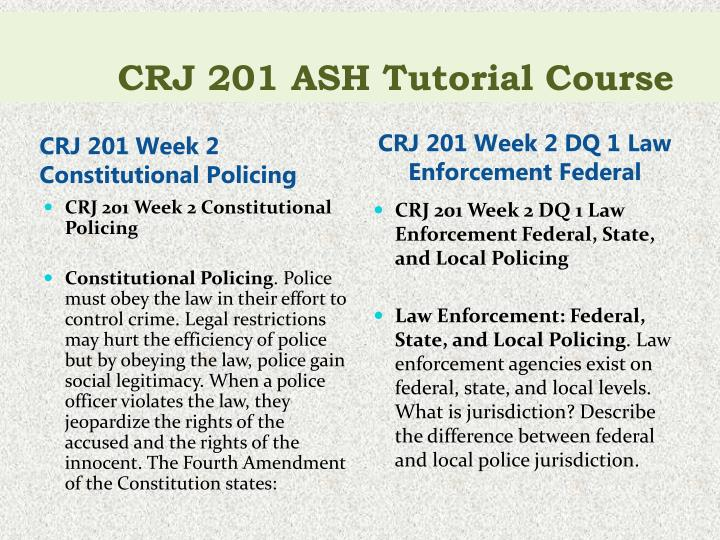 constitutional policing