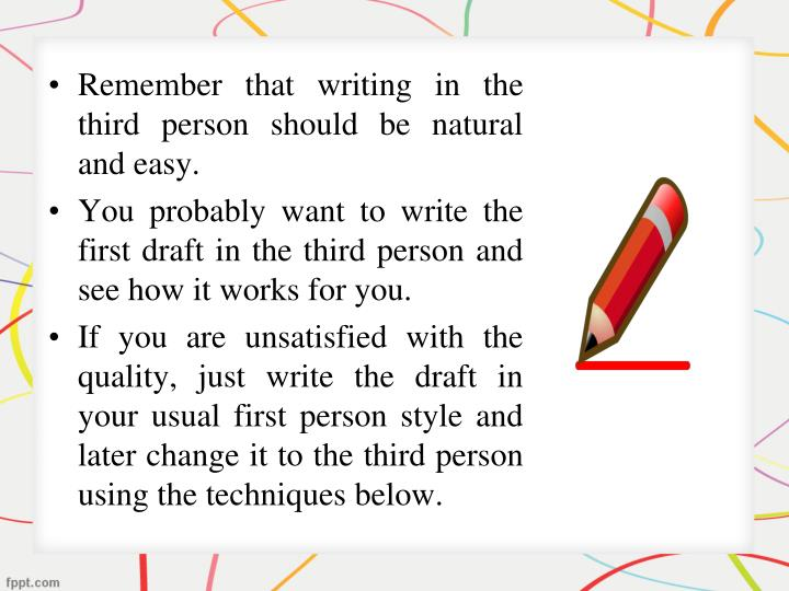 essay third person writing Make your research paper perfect with the help of this video read the whole article here: .