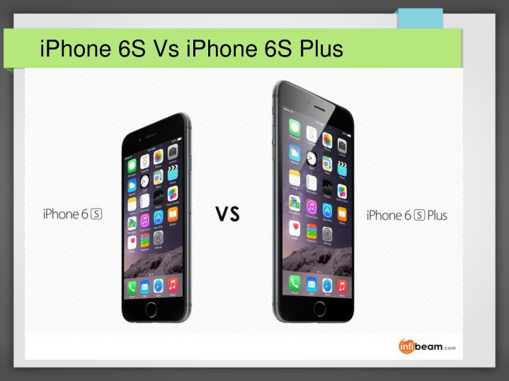 iphone 6s vs iphone 6s plus n.