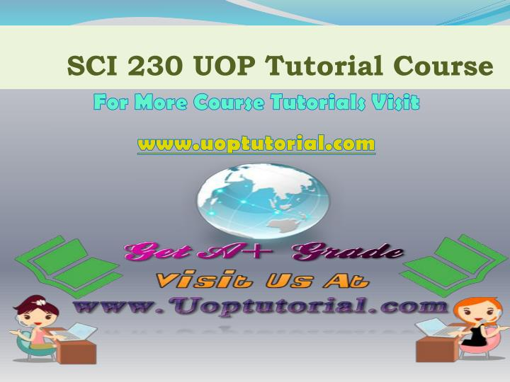 sci 230 uop tutorial course n.
