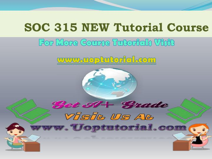 soc 315 new tutorial course n.