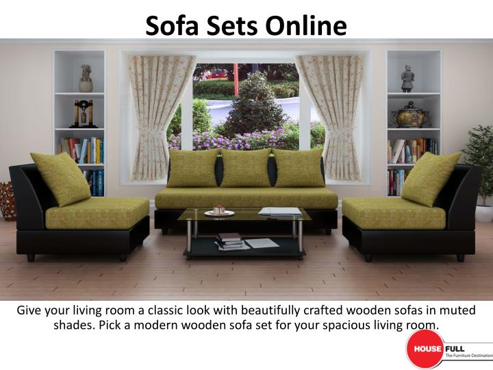 Wondrous Ppt Buy Sofa Set Online In India At Housefull Co In Camellatalisay Diy Chair Ideas Camellatalisaycom
